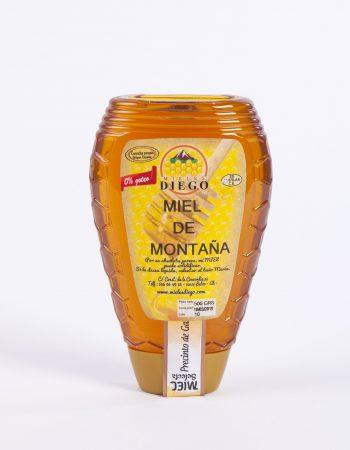 Miel en envase antigoteo